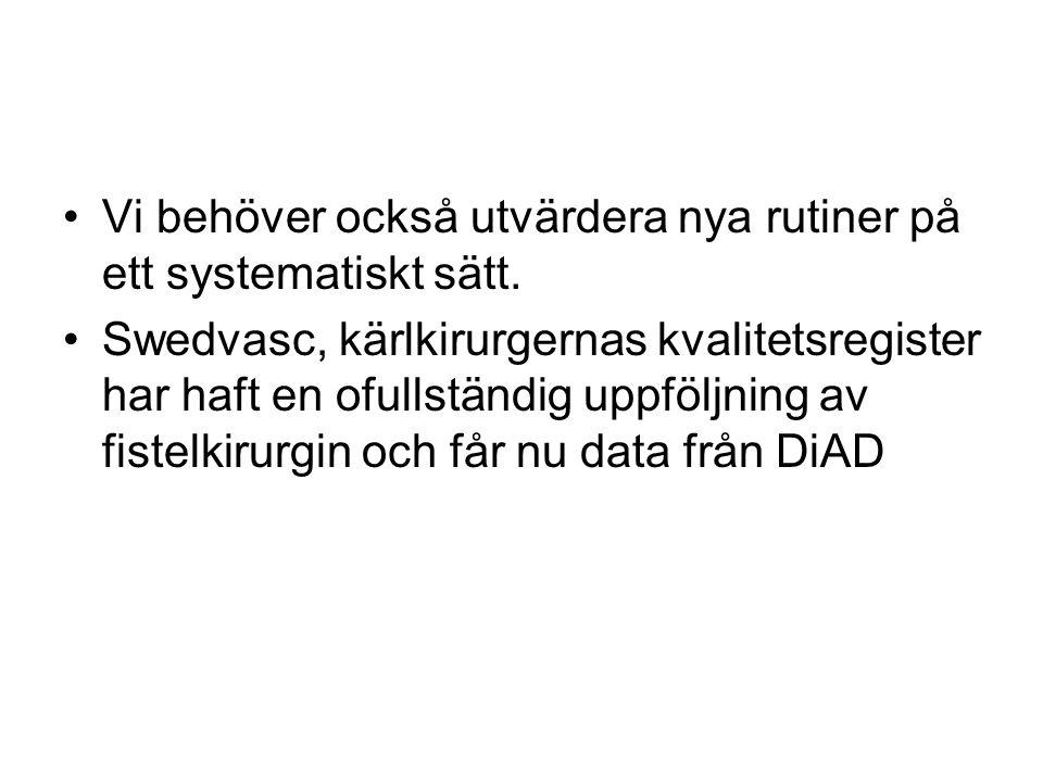 Varje enhet utser en lokal administratör som via Anna-Lena på SNR får en länk till DiAD Länken till DiAD når man via intranätet på sitt eget sjukhus
