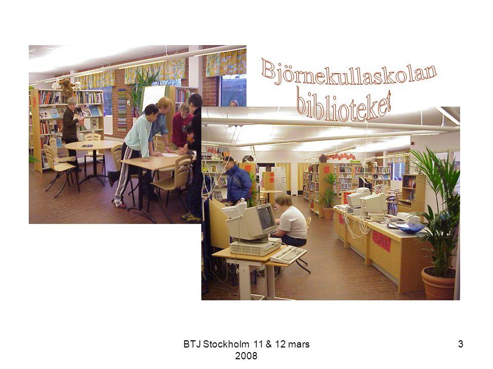 BTJ Stockholm 11 & 12 mars 2008 44 Ha känsliga antenner.