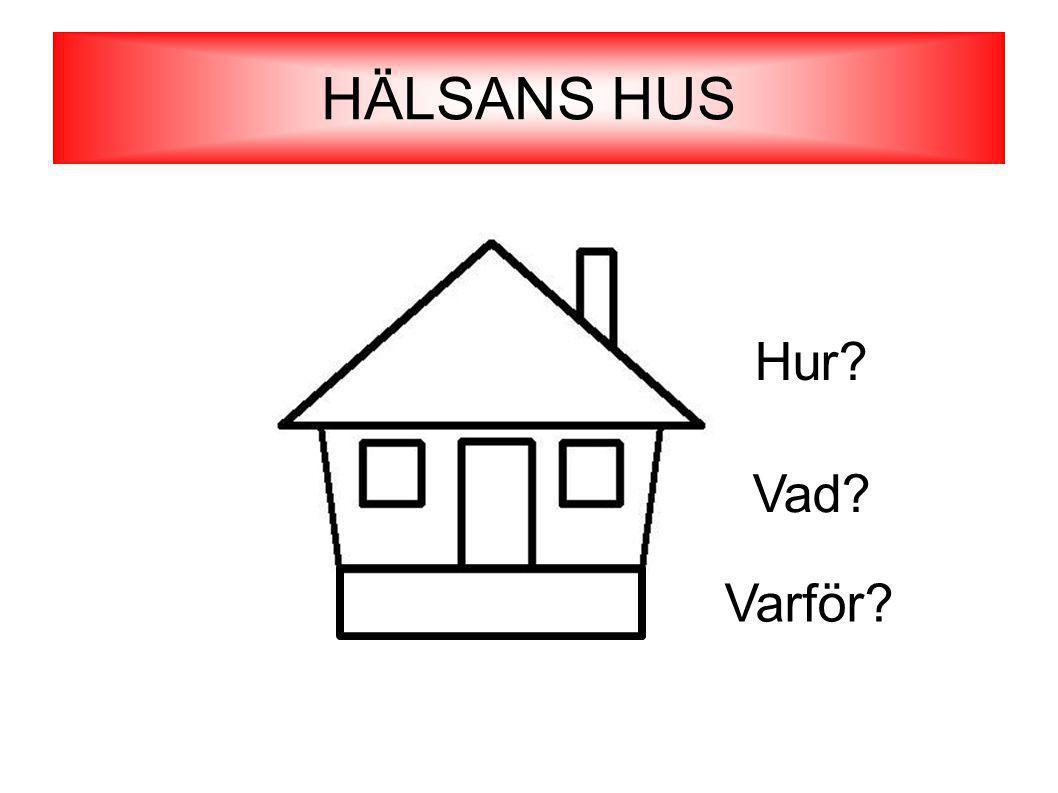 HÄLSANS HUS Varför Vad Hur