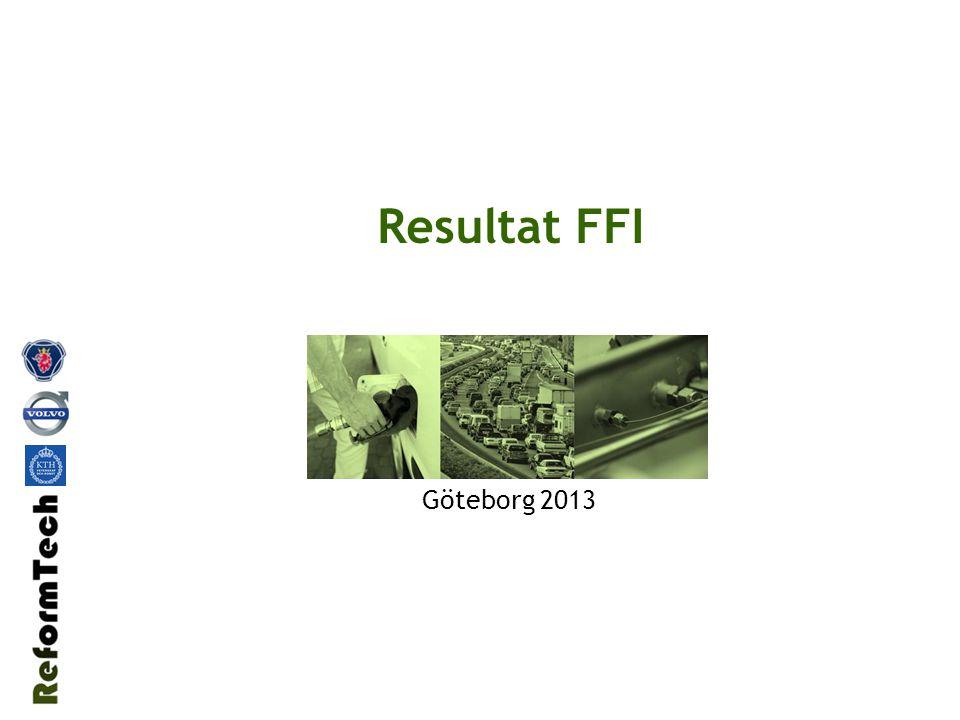 Resultat FFI Göteborg 2013