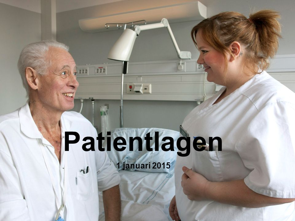 1 Patientlagen 1 januari 2015