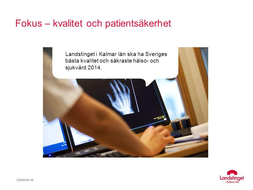 Ltkalmar.se Goda resultat i nationella mätningar Hitta och jämför vård: http://www.1177.se/Kalmar-lan/Hitta-vard/Kalmar/