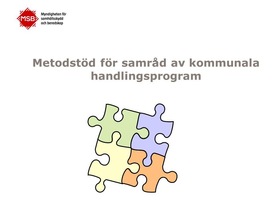 Metodstöd för samråd av kommunala handlingsprogram