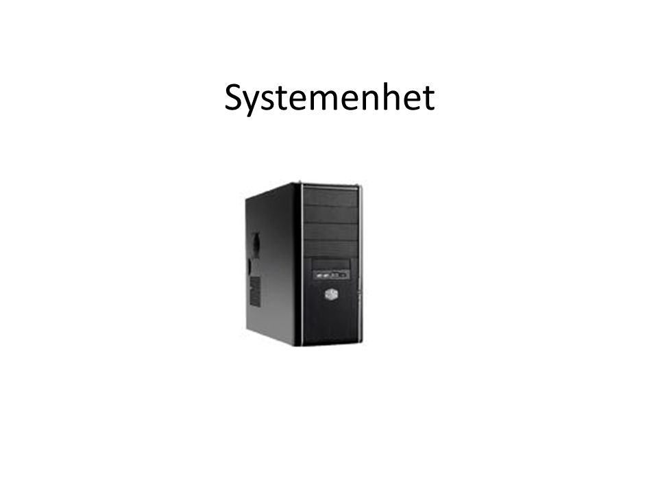 Systemenhet