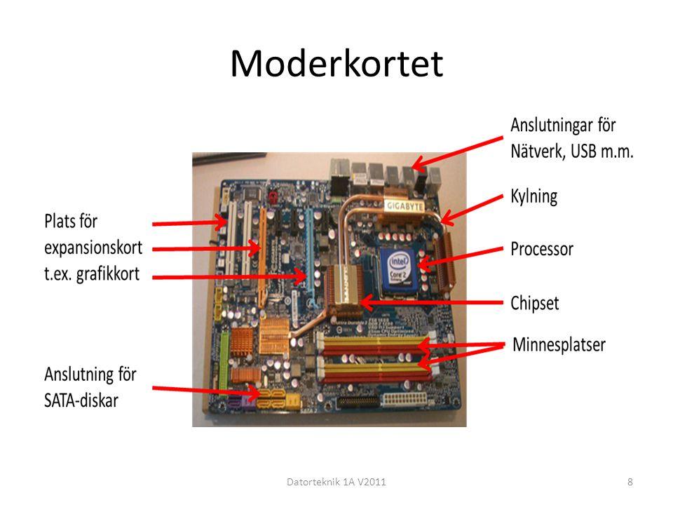 Moderkortet Datorteknik 1A V20118
