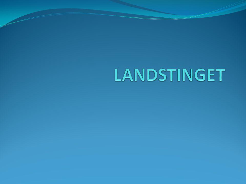 Detta gör landstinget Hälso- och sjukvård är den största verksamheten inom landstinget.