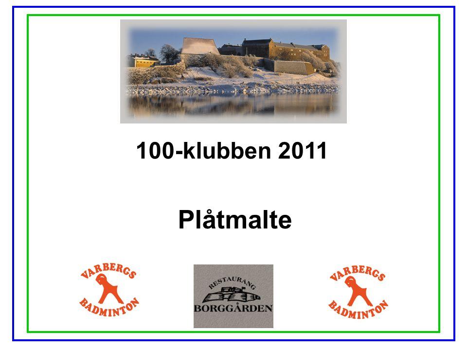 100-klubben 2011 Plåtmalte