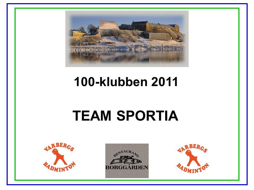 100-klubben 2011 TEAM SPORTIA