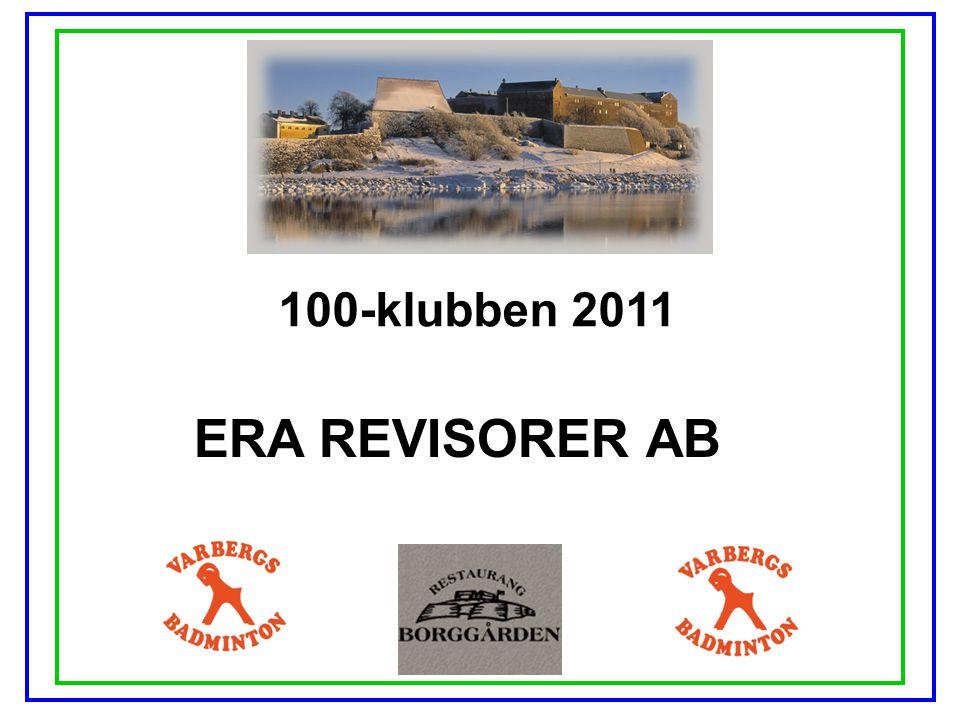 100-klubben 2011 ERA REVISORER AB