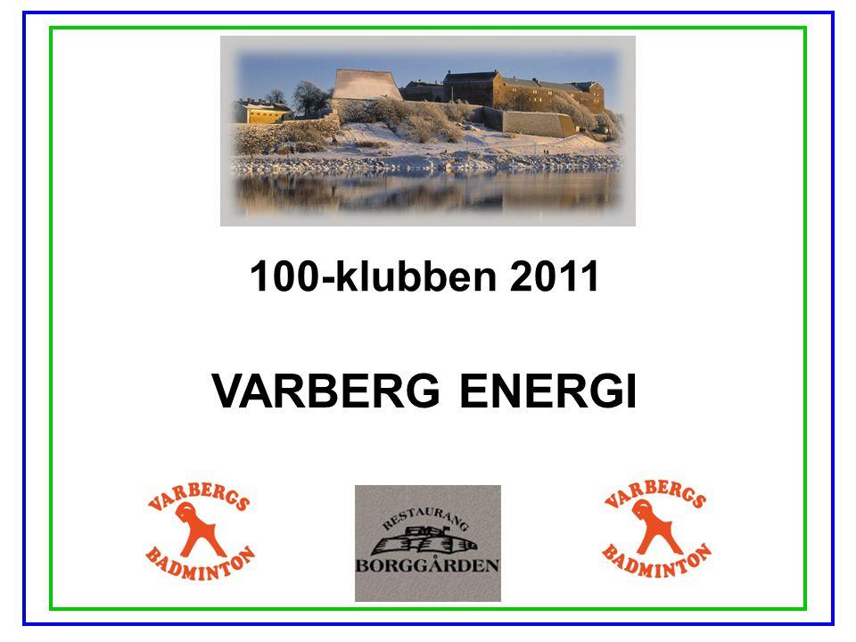 100-klubben 2011 VARBERG ENERGI