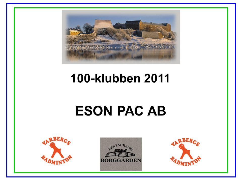 100-klubben 2011 ESON PAC AB
