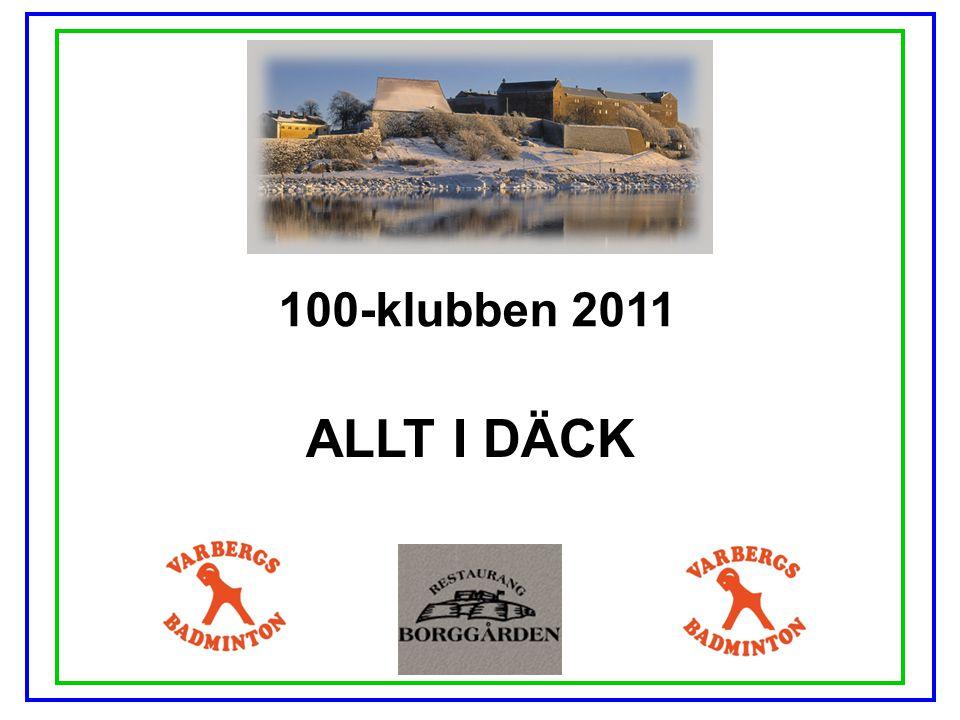 100-klubben 2011 ALLT I DÄCK