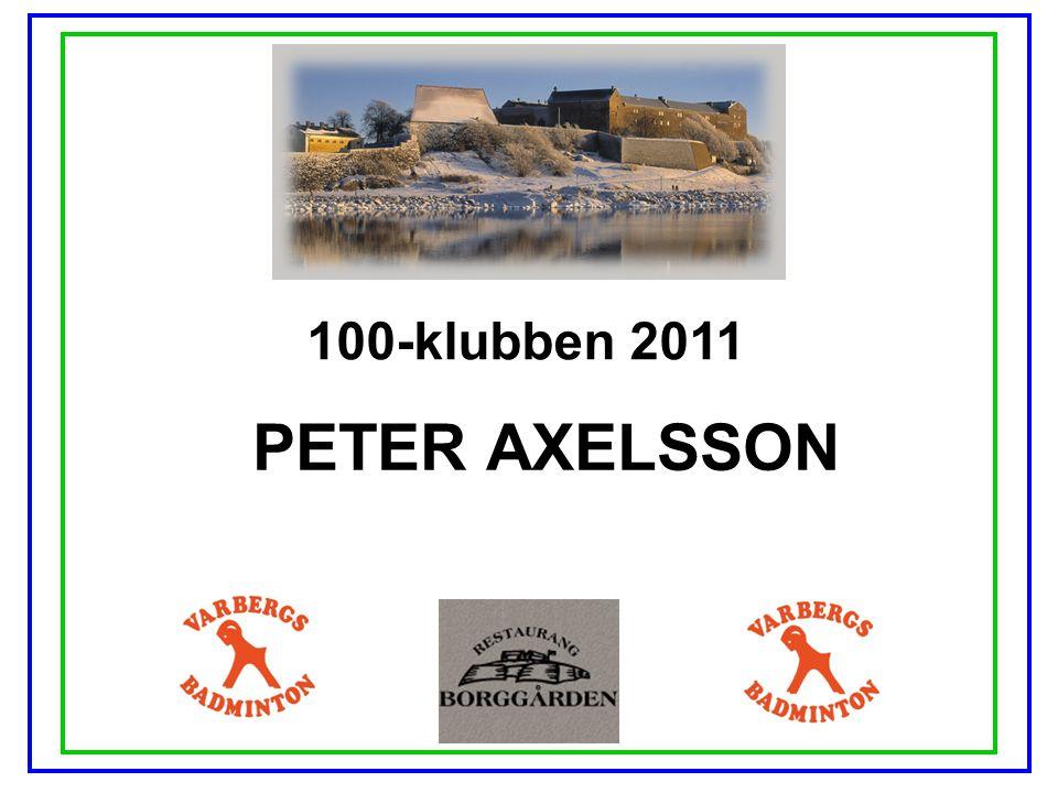 100-klubben 2011 PETER AXELSSON