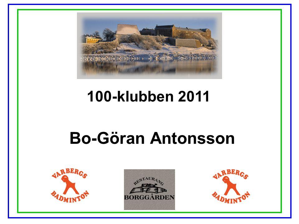 100-klubben 2011 Bo-Göran Antonsson