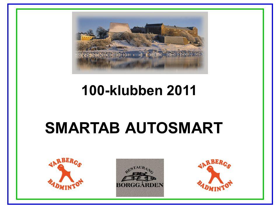 100-klubben 2011 SMARTAB AUTOSMART