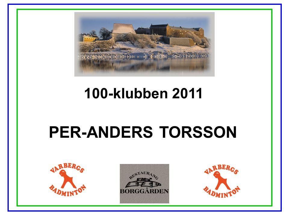 100-klubben 2011 PER-ANDERS TORSSON