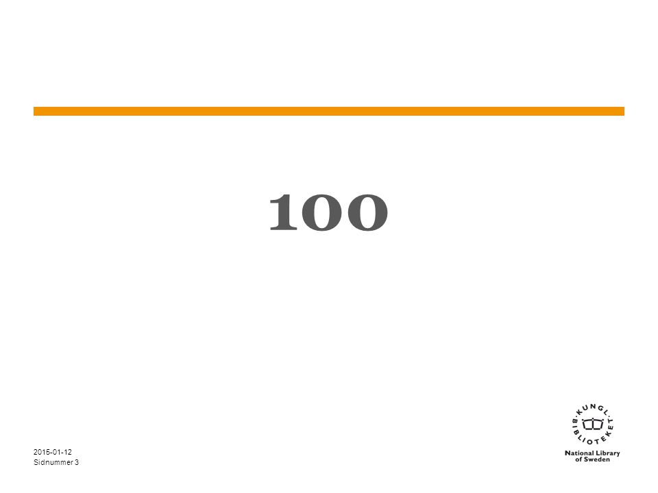 Sidnummer 2015-01-12 34 Kristendom – exempel 3 (3) Sveriges kyrkohistoria.