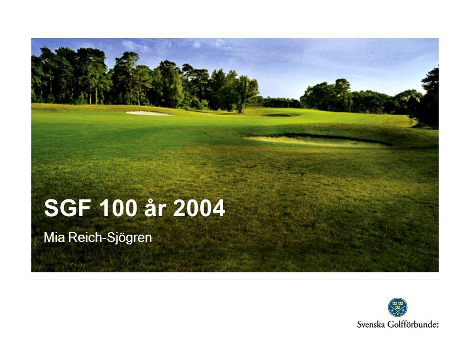 SGF 100 år 2004  Brev med information om förslag till aktiviteter till samtliga GDF i juni.