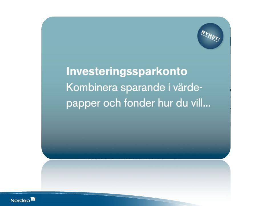 Investeringskontot ger skattefördelar & förenklar De affärer som görs inom skalet för Investeringssparkontot behöver inte deklareras.