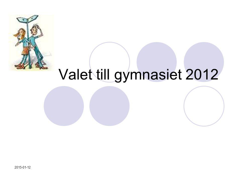 2015-01-12 Valet till gymnasiet 2012