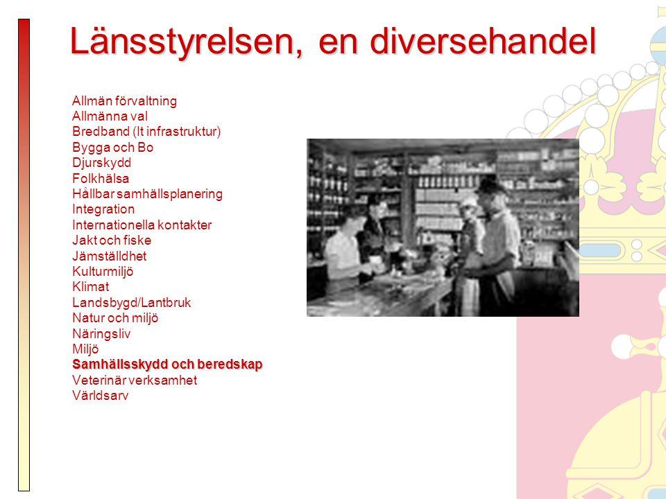 Svenska krishanteringssystemets tre grundprinciper