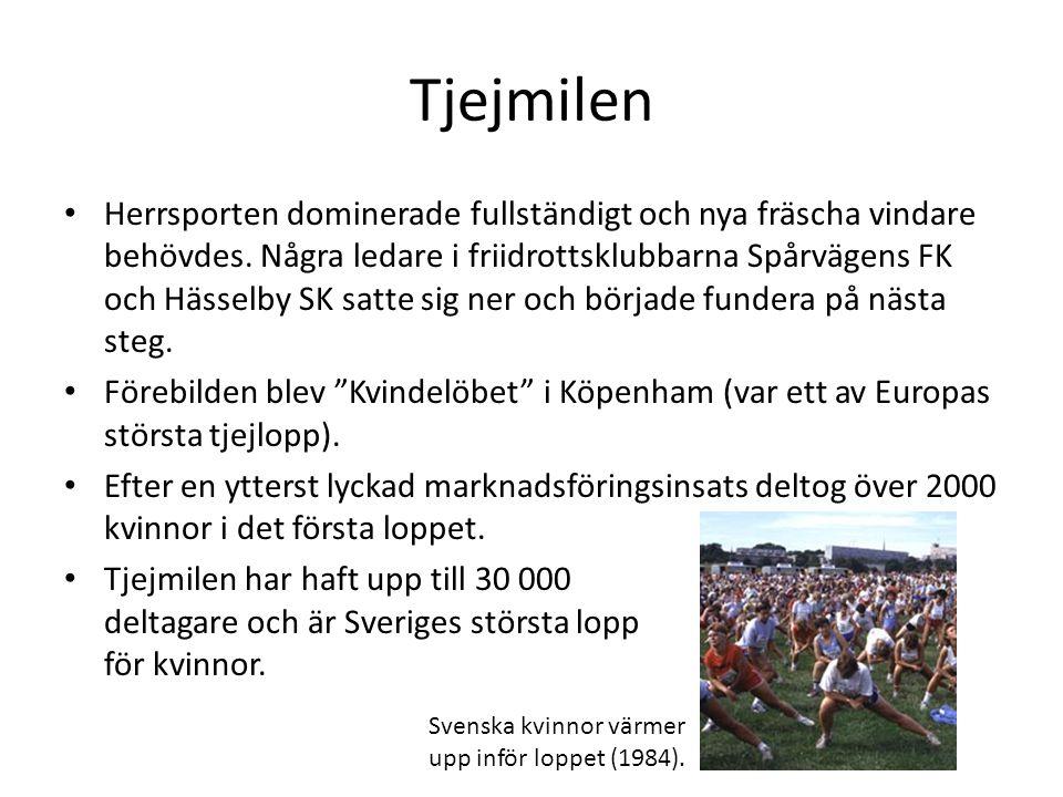 Arrangörer: Naisten Kymppi IloMetri Oy VD Karoliina Rautakorpi Tjejernas kanontia Ordförande Mårten Beijar (SFI) Projektledare Cia Borgman Patric Westerlund & Viveca Blomberg Tjejmilen Spårvägens FK & Hässelby SK Positiv thumbs up åt alla.