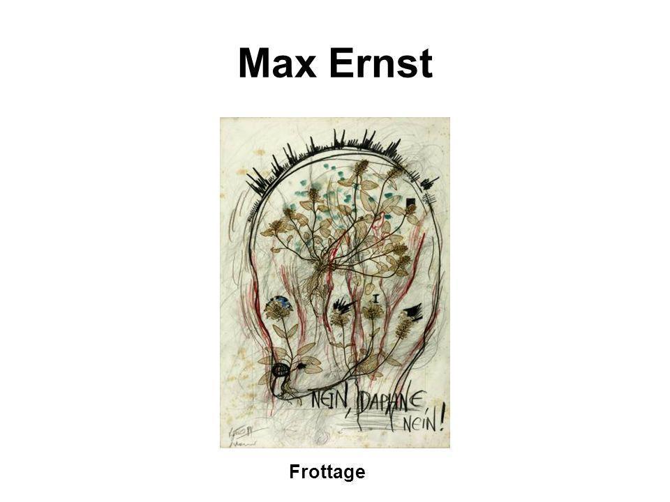 Max Ernst Frottage