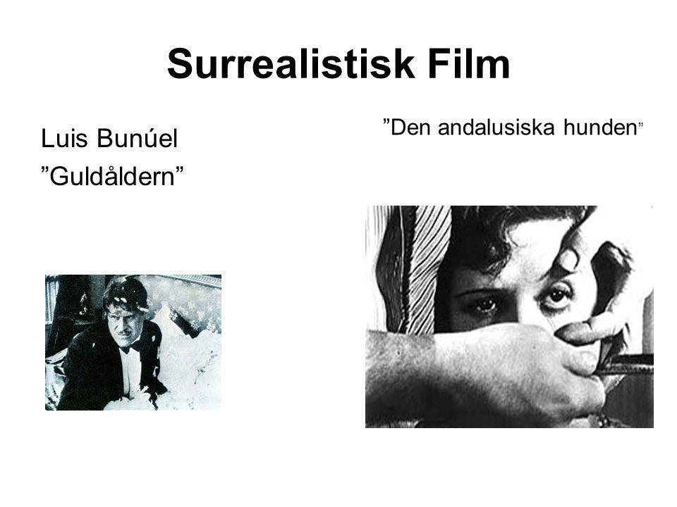 """Surrealistisk Film Luis Bunúel """"Guldåldern"""" """"Den andalusiska hunden """""""