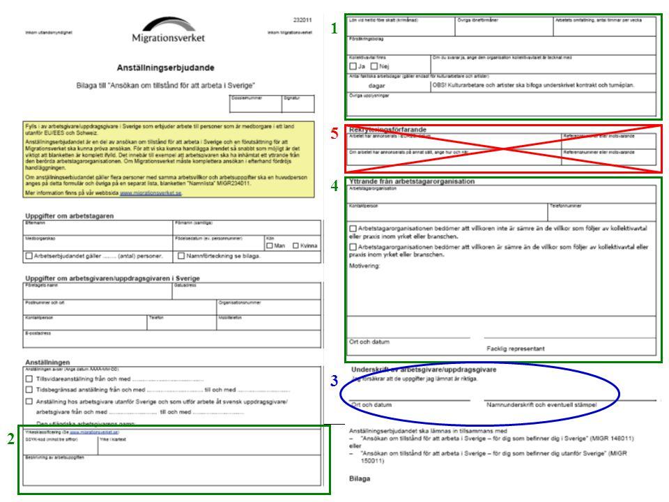 Fackets uppgift 3 Yttrande över lön, försäkringar och andra arbetsvillkor.