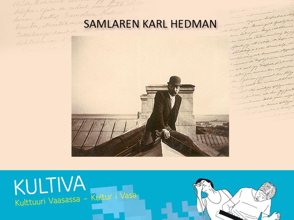 Uppgift 1 Ett brev från Hedman: Läs Hedmans biografi och försök leva in dig i Hedmans situation Skriv ett påhittat brev till t.ex.