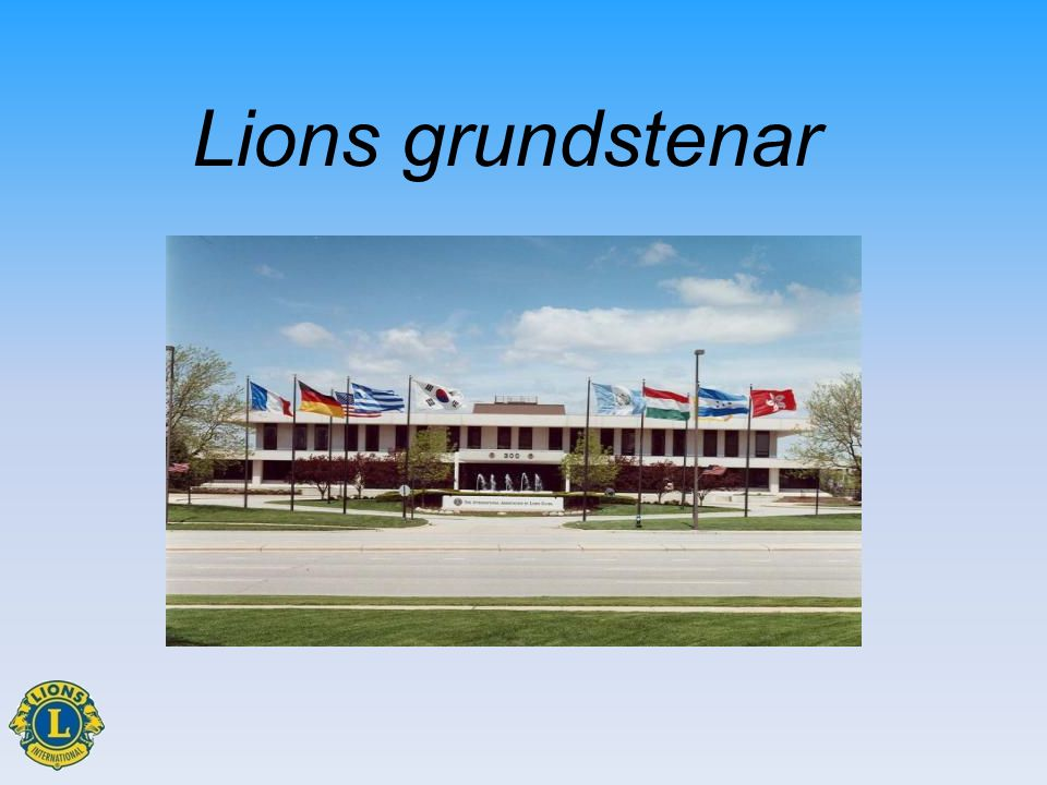 Lions grundstenar