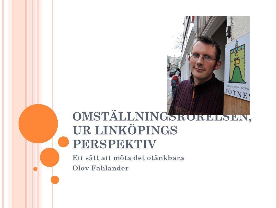 PROJEKT MATLOGISTIK En studie vid Önnebo Lanthandel (s Mjölby).