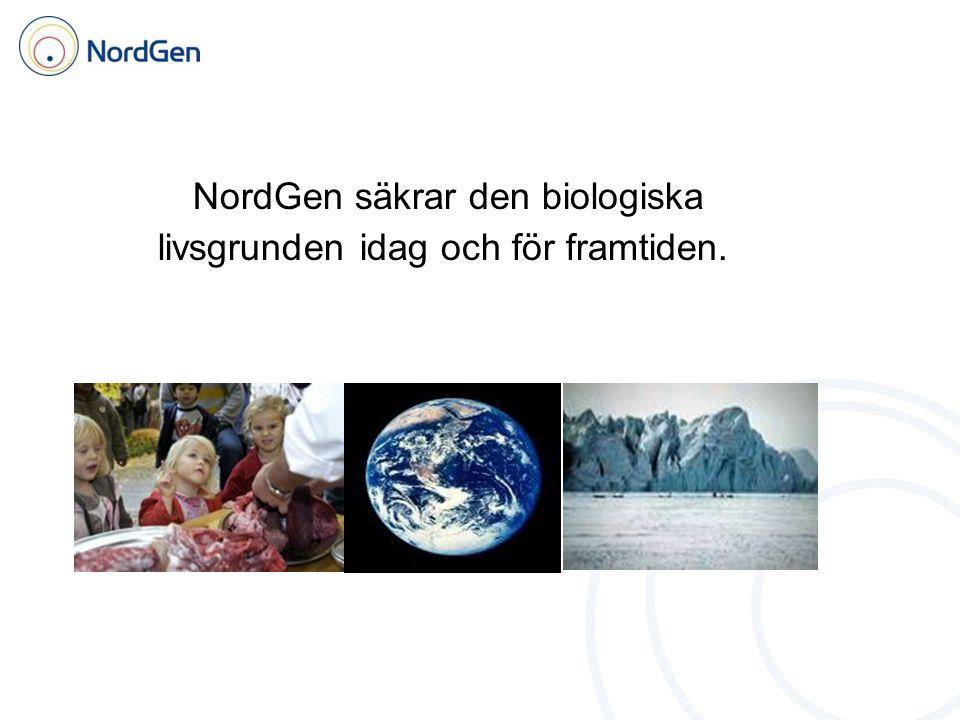 NordGen säkrar den biologiska livsgrunden idag och för framtiden.