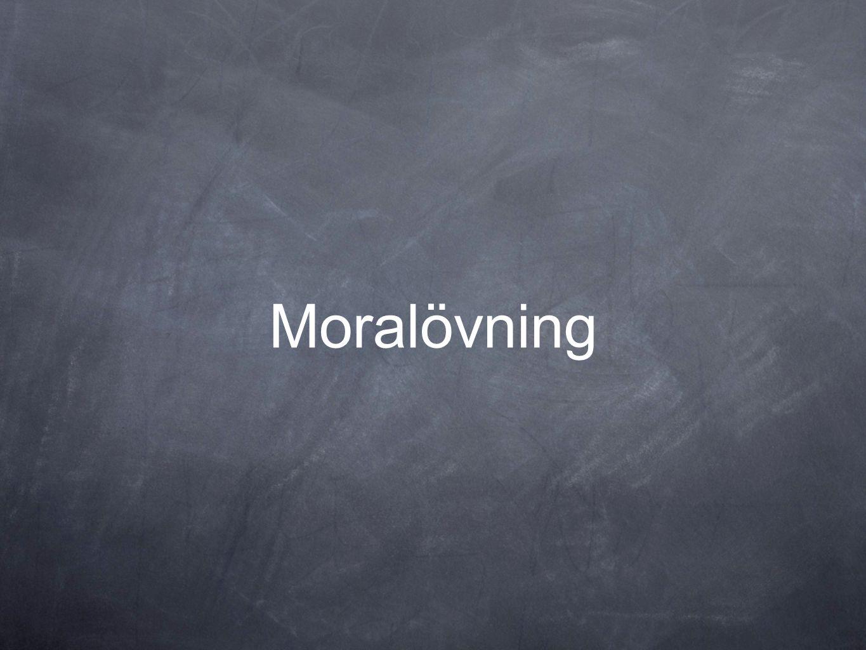Moralövning