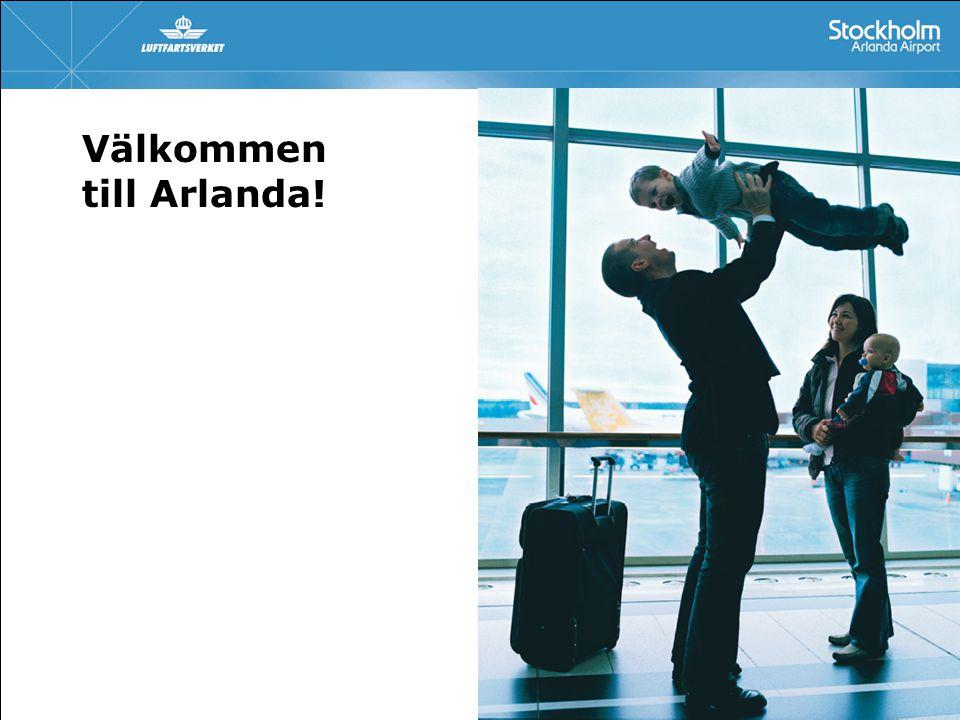 Välkommen till Arlanda!