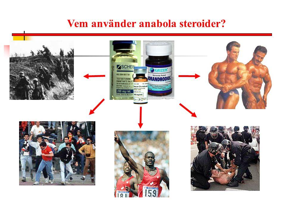 Vem använder anabola steroider?