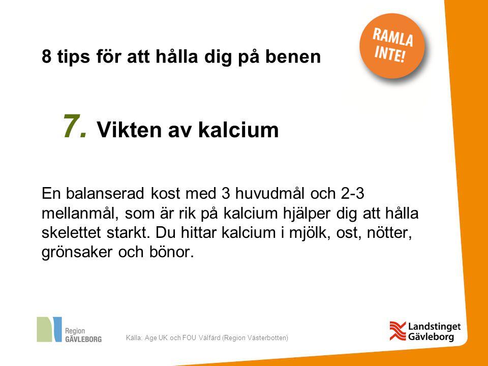 Källa: Age UK och FOU Välfärd (Region Västerbotten) 8.