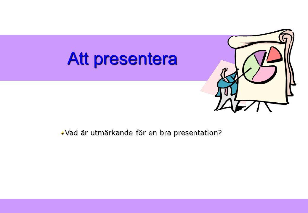 """""""Modern Logistik"""" Aronsson, Ekdahl, Oskarsson, """"Modern Logistik"""" Aronsson, Ekdahl, Oskarsson, © Liber 2003 Att presentera Vad är utmärkande för en bra"""