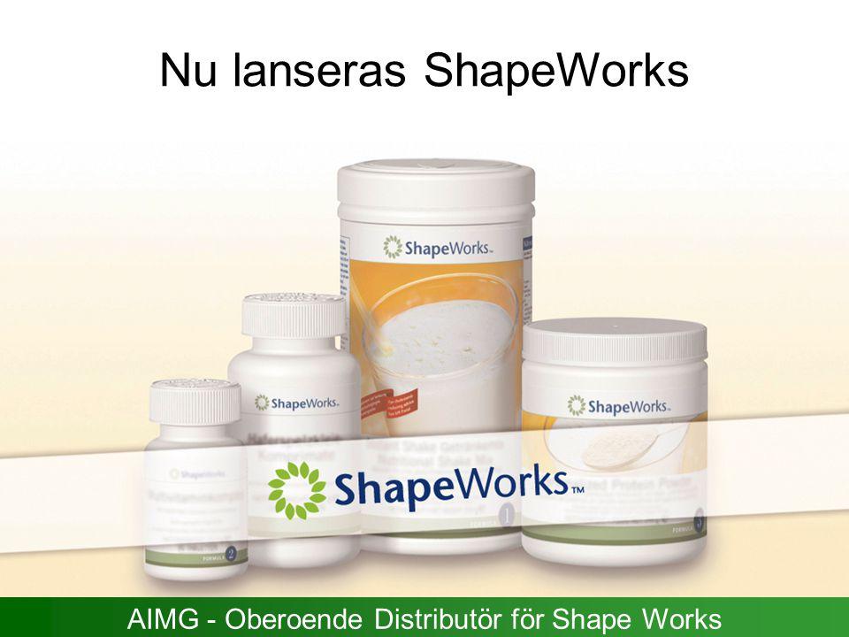 Nu lanseras ShapeWorks AIMG - Oberoende Distributör för Shape Works