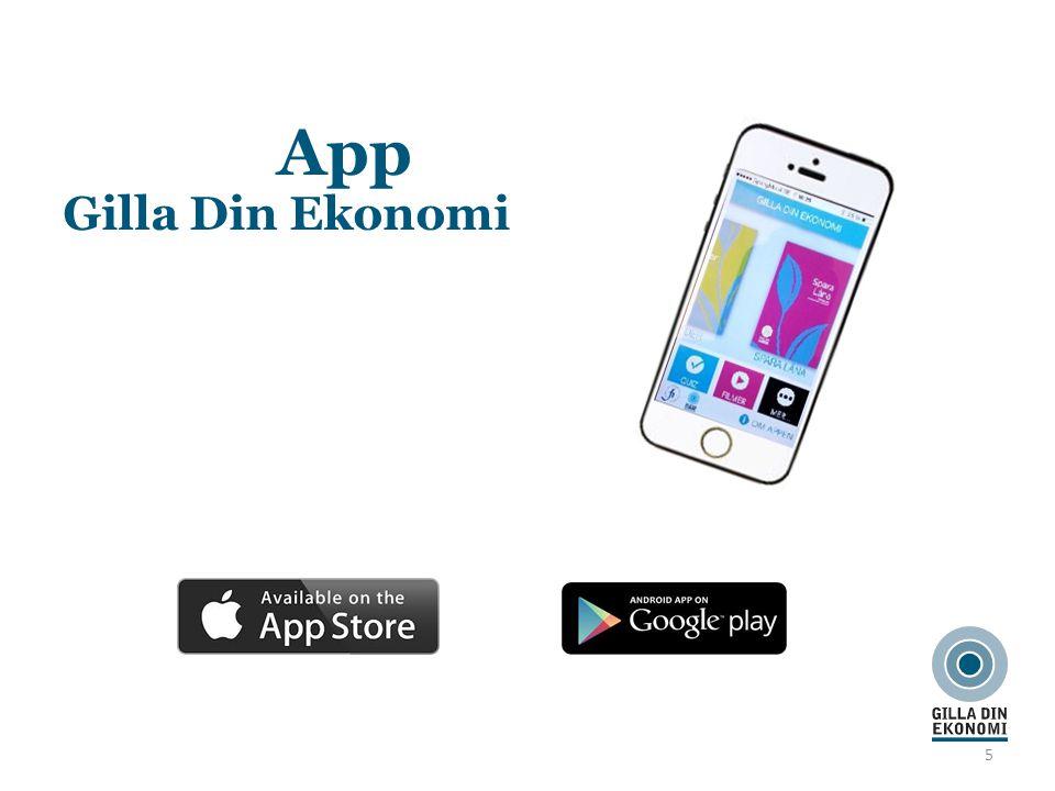 5 App Gilla Din Ekonomi