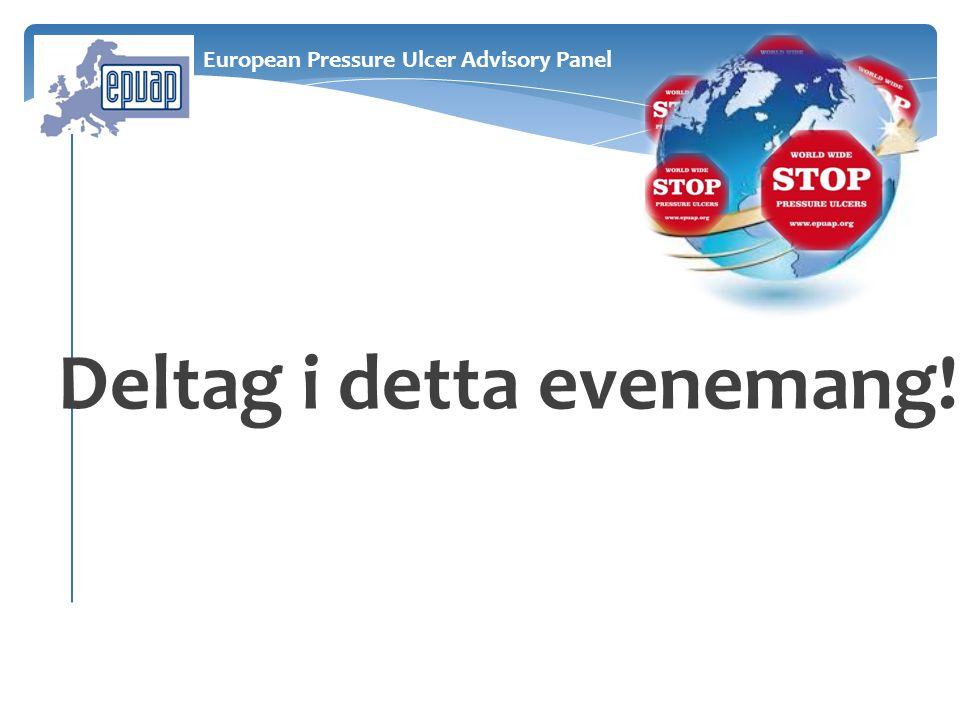 Deltag i detta evenemang! European Pressure Ulcer Advisory Panel
