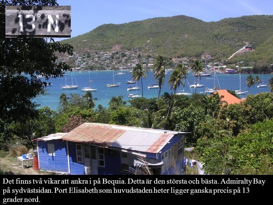 Ja, det var Bequia det.Nu över till Canouan, Mustique och St Vincent.