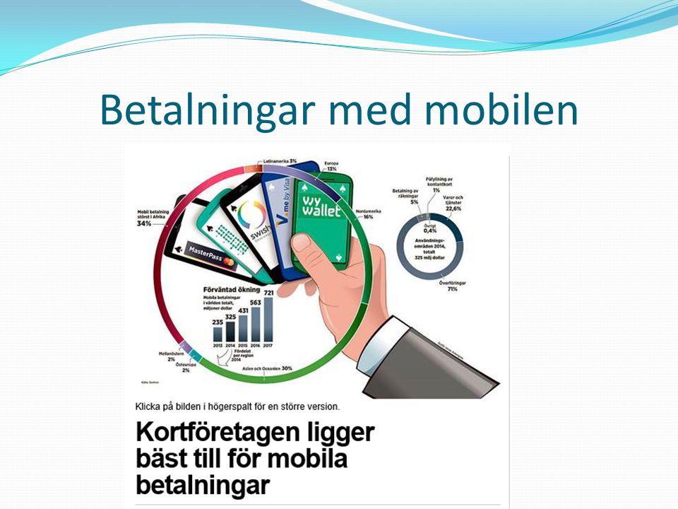 Betalningar med mobilen