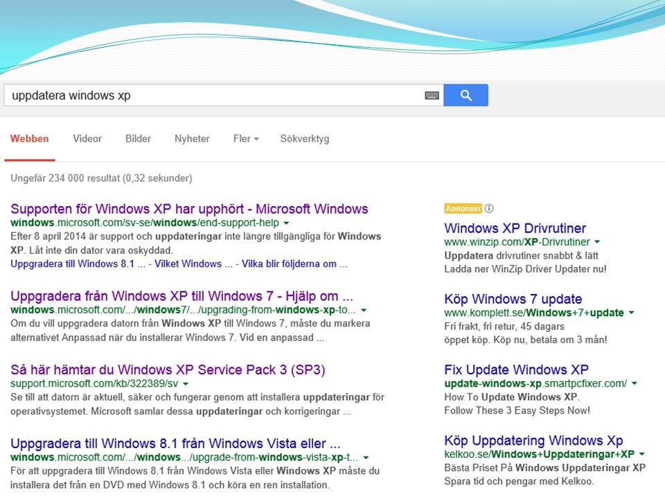 Windows 8 klicka