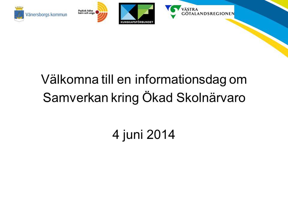 Information om Samverkan kring ökad skolnärvaro Varför.