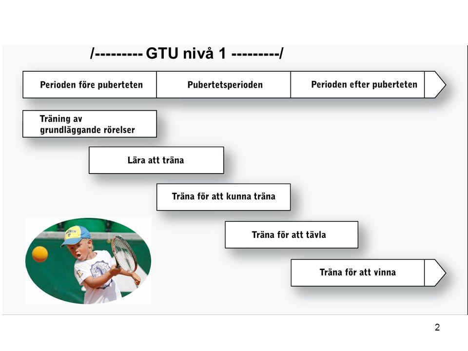 2 /--------- GTU nivå 1 ---------/
