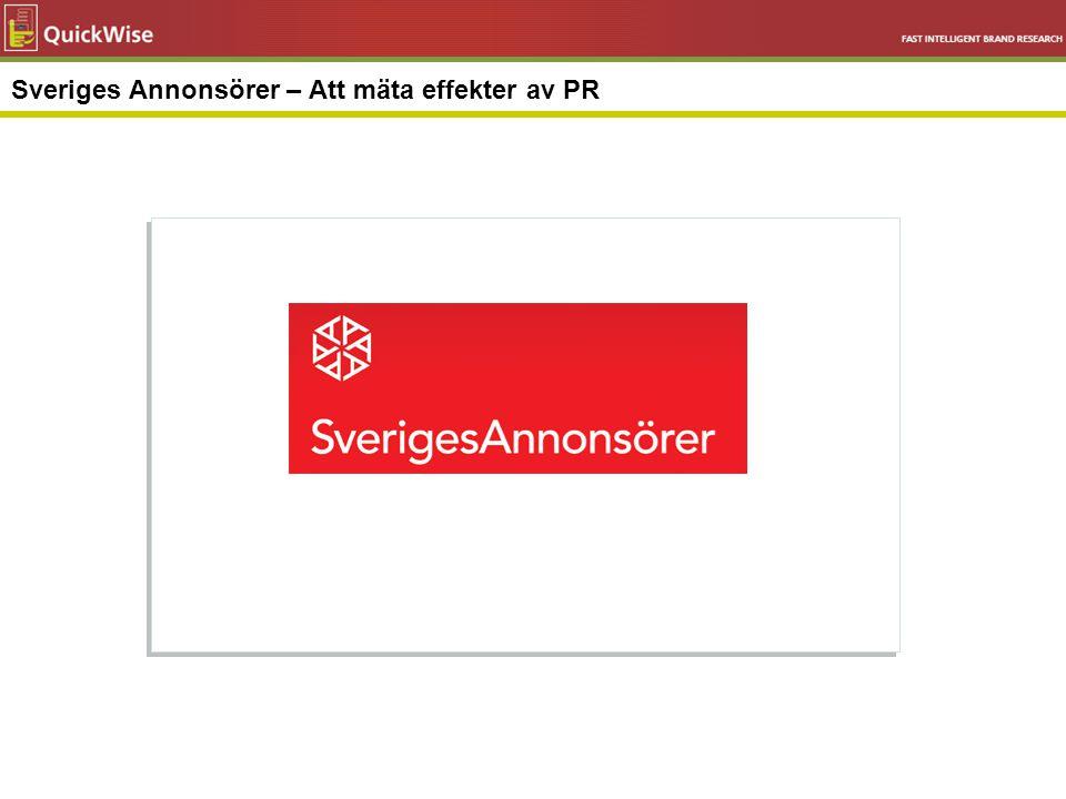 Sveriges Annonsörer – Att mäta effekter av PR