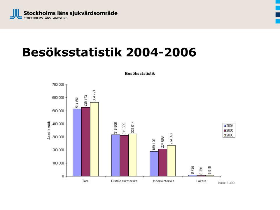 Besöksstatistik 2004-2006