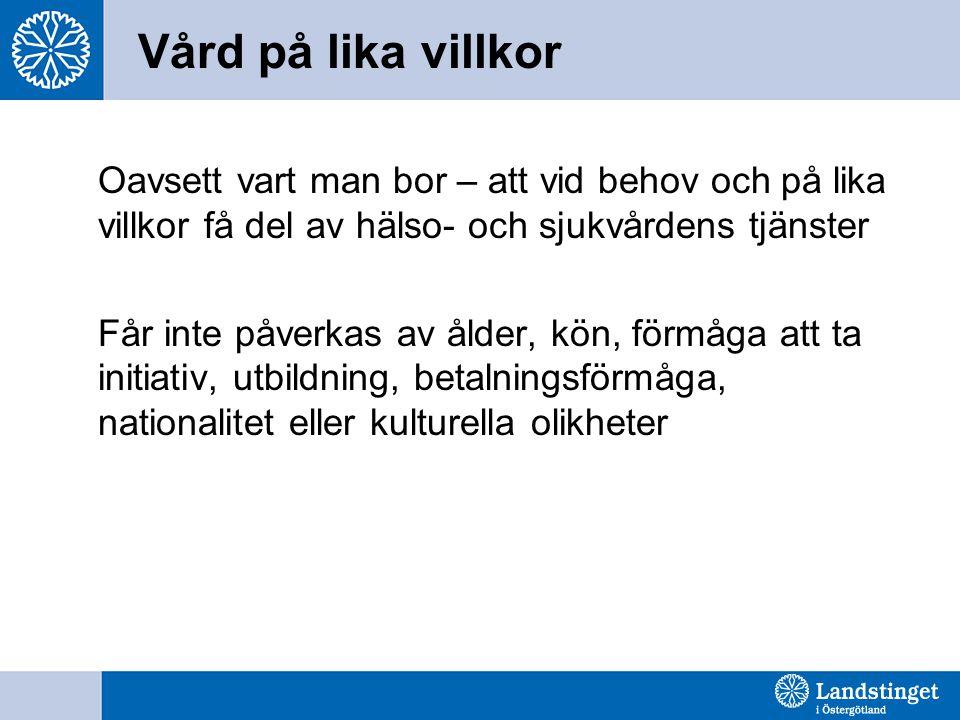 Vårdpersonalens ansvar 2 kap.