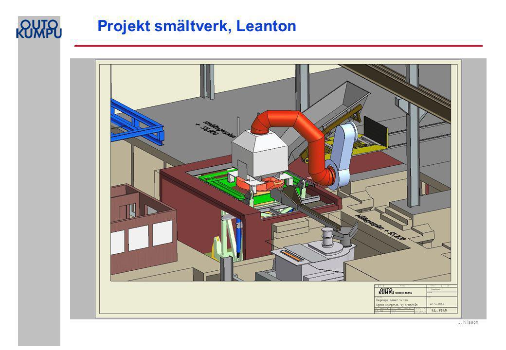 J. Nilsson Projekt smältverk, Leanton